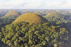 Chocolate hills, Bohol, Philippines Stock Photo