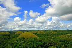 Chocolate Hills, Bohol, Philippines Stock Image