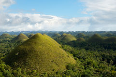 The Chocolate Hills, Bohol, Philippines Stock Photography