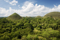 Chocolate Hills, Bohol - Philippines. Chocolate Hills in Bohol Island, Philippines Royalty Free Stock Photography