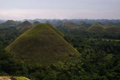 Chocolate hills, Bohol, Philippines Stock Photo