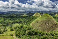 Chocolate Hills of Bohol, Philippines Stock Image