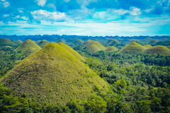 Chocolate Hills in Bohol Royalty Free Stock Image