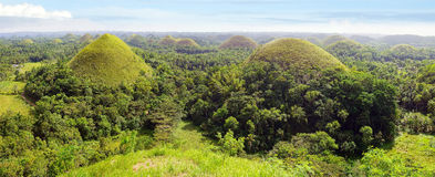 Chocolate Hills, Philippines Stock Photography