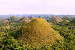 Chocolate Hills, Philippines Stock Photo