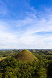 Chocolate Hills, Philippines Stock Photos