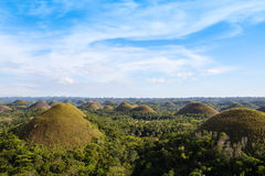 Chocolate Hills, Philippines Royalty Free Stock Photography