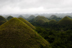 Chocolate Hills - Philippines Stock Photos