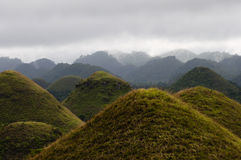 Chocolate Hills - Philippines Royalty Free Stock Images