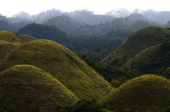 Chocolate Hills - Philippines Stock Images