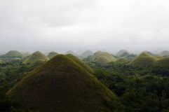 Chocolate Hills - Philippines Royalty Free Stock Photos