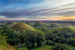 Chocolate Hills of the Philippines Stock Photography