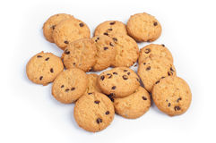 Chocolate homemade biscuits Royalty Free Stock Image
