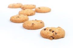 Chocolate homemade biscuits Stock Photo