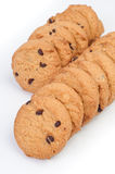 Chocolate homemade biscuits Royalty Free Stock Photography