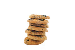 Chocolate homemade pastry biscuits Royalty Free Stock Photography