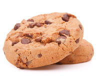 Chocolate homemade pastry cookies Stock Images