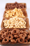 Chocolate and honey cereals Stock Photography