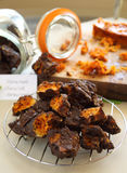 Chocolate Honeycomb Royalty Free Stock Image