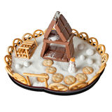 Chocolate house Royalty Free Stock Images