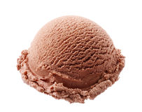 Chocolate ice cream Royalty Free Stock Image