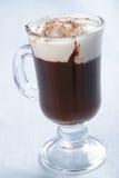 Chocolate with ice cream Royalty Free Stock Photo