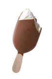 Chocolate ice cream stock photos