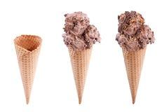 Chocolate Ice Cream Stock Images