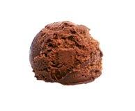 Chocolate ice cream ball Royalty Free Stock Image
