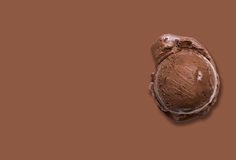 Chocolate ice cream Royalty Free Stock Images