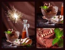 Chocolate ice cream Royalty Free Stock Image