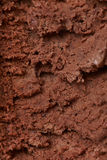Chocolate ice cream texture Stock Photos