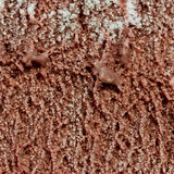 Chocolate ice cream texture Royalty Free Stock Photography