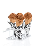 Chocolate Ice Creams Stock Photo