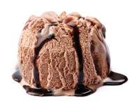 Chocolate icecream Stock Images