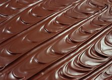Chocolate icing Stock Photo