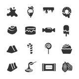 Chocolate icon set 3, vector eps10 stock illustration