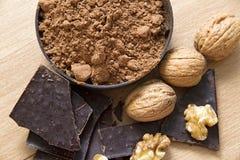 Chocolate Ingredients Stock Image