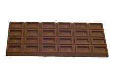 Chocolate isolado no branco Imagem de Stock Royalty Free