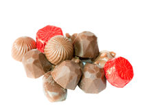 Chocolate isolated royalty free stock images