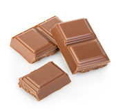 Chocolate isolated on a white background Stock Photo