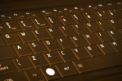 Chocolate Keyboard Royalty Free Stock Images