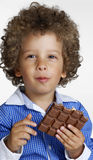 Chocolate kid. Stock Images