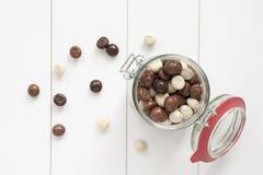 Chocolate Kruidnoten Fotografia de Stock Royalty Free