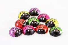 Chocolate ladybugs Royalty Free Stock Images