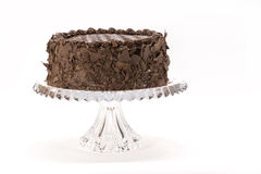 Chocolate Layer Cake royalty free stock image