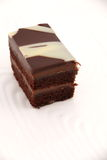 Chocolate layer cake Royalty Free Stock Photography
