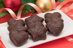 Chocolate Lebkuchen Stock Photos