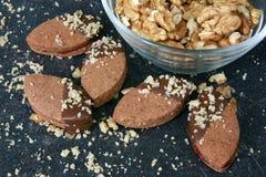Chocolate Linzer imagen de archivo