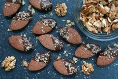 Chocolate Linzer imágenes de archivo libres de regalías